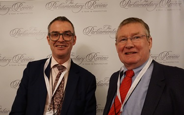 The Parliamentary Review Gala - Brian Inkster and David Preston